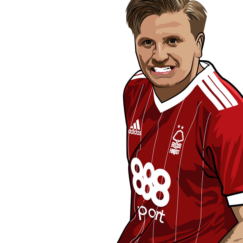Jason Cummings Nottingham Forest Striker